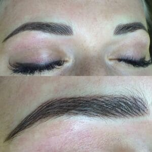 Feather touch brows training